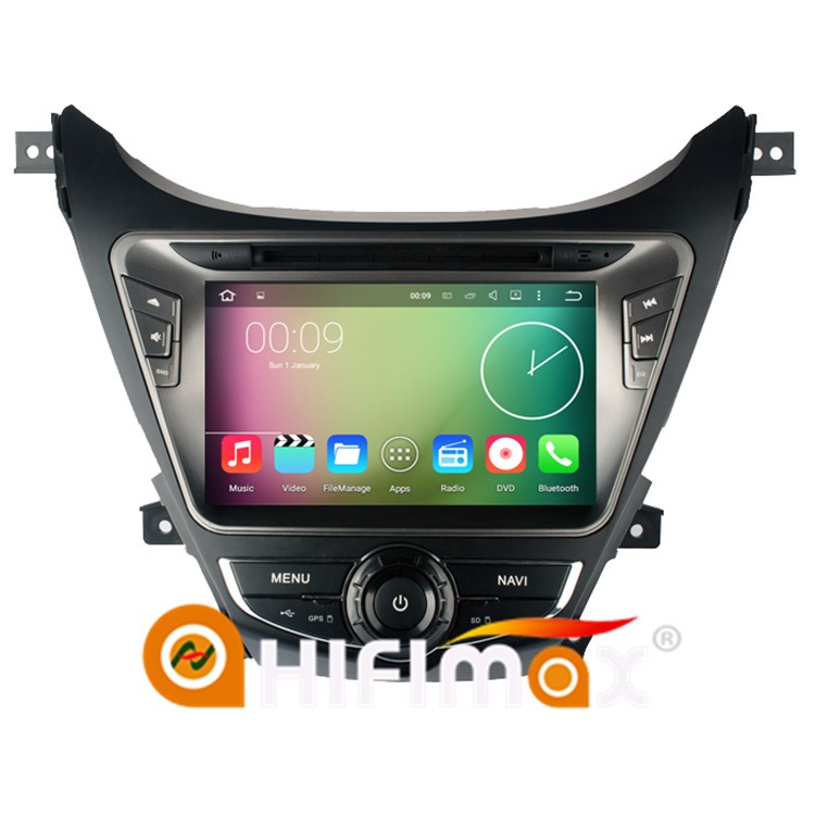 HIFIMAX Android 5.1.1 car dvd gps navigation for Hyundai Elantra/hyundai elantra 2013 touch screen dvd gps hyundai elantra 2013