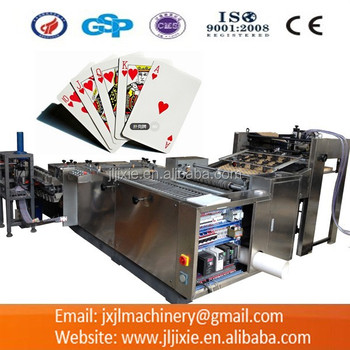 PK54-55 Playing Cards Slitting And Collating Machine