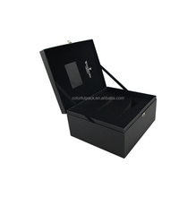 Recyclable material elegant effect color box packaging/cosmetic paper box/box packaging