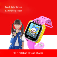 3G Network Kids GPS Tracking Smart Watch Phone with camera, SOS, safety fence, pedometer