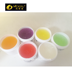 Custom colors wax water based hair styling coloring wax strong hold/high shine hair wax coloring
