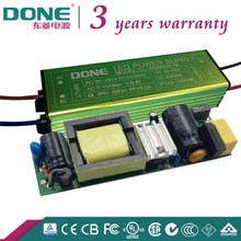 Constant Current 28W 600mA Waterproof Electronic Led Driver IP67