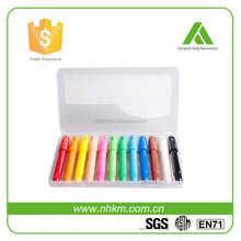 Ages 3+ 12 sets automatic rotation gel crayon