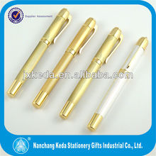 factory wholesale metal Gold plated pen for 2016