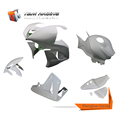 Patented Inovative Idea Product motorcycle front fairing reinforced fiberglass for honda cbr600rr 07-08