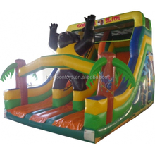 commercial inflatable dry slide, inflatable jumping slide for kids and adult