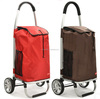 2014 hot sale easy 600d folding supermarket trolley ,shopping cart with bag luggage and tea trolley