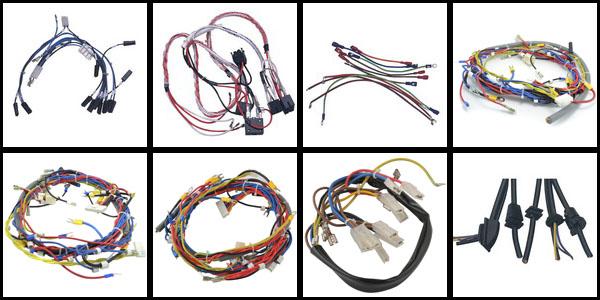 excavator wire harness