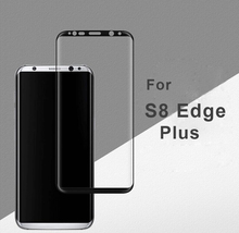 2017 newest hot selling 3D full cover S8 plus tempered glass screen protector for Samsung galaxy S8 Plus mobile phone