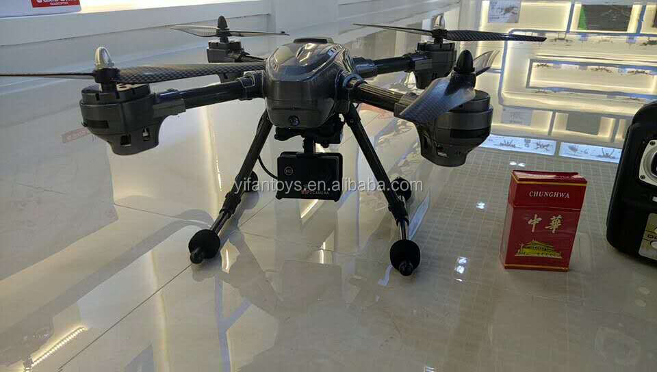 T03D Cheapest GPS drone 2.4G wifi camera optional double GPS with follow me function
