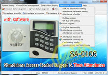 Access Control Standalone via Attendance system software keep record