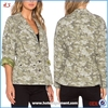 Wholesale Classic Style Outdoor Camo Field Jacket For Women