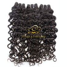 High quality 100% remy human hair Italian curly virgin remy brazilian tight curly hair