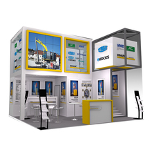 Wholesale portable expo exhibition trade show booth exhibit display stand for advertising