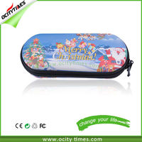 Customer Logo Printing Leather E-cigarette Bag with Different Size For Electronic Cigarette