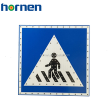 Hornen Solar led road safety traffic signal pedestrian signs