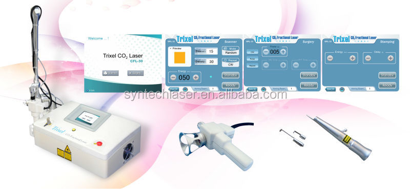 CO2 Laser Cutter Optimal Ablation Machines for Acne Scar Removal On Face
