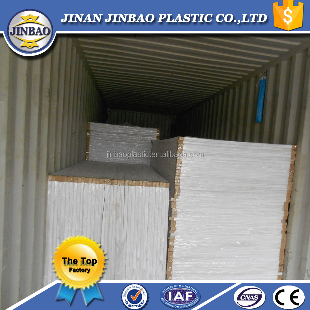 PVC foam 20mm pvc rigid foam board free foam board customized