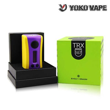 2017 Hugo Vapor Design Temperature Control TRX167 DNA 250 Box Mod Vapor