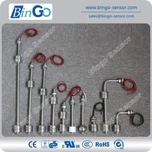 Stainless steel or PPwater level float switch, stainless water level sensor