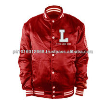 Satin Baseball/Varsity/Letterman Jackets