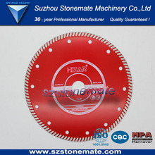 "7"" 180mm diamond saw blade for stone Cutting silent or normal"
