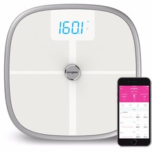 Koogeek Bluetooth WiFi Smart <strong>Scales</strong> Digital Body Bathroom <strong>Scale</strong> Auto Sync Baby Weight 8 Healthy Indicators KS1