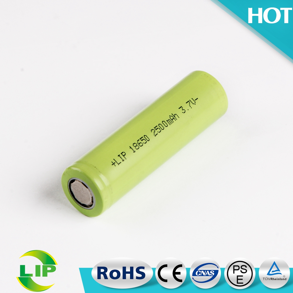 2500mah cylindrical rechargeable 18650 3.7v cylinder lithium li ion battery philippines for vibrators