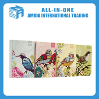 Korea stationery wholesale hand-painted stray birds restore ancient ways small notebook