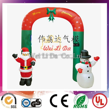 inflatable outdoor christmas arch for decoration