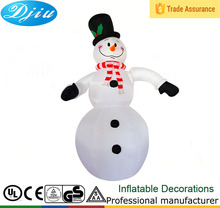 DJ-XT-152 2015 new products christmas inflatable crafts toys lovely snowman