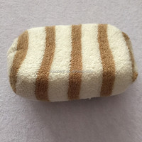 New Cotton Hemp Exfoliating Bath Sponge