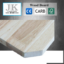 JHK-Simple Teak Wood Door Designs Compressed Wood Board Rubber Wood Finger Joint Lamination Board