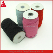 Flat elastic band with many different colores