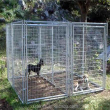 wholesale Large outdoor dog cages, welded wire dog kennel .
