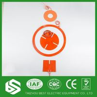 Silicone rubber hot pads in medical equipment heating