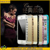 newest 2014 luxury metal bumper frame case for iPhone 5 watch chain design