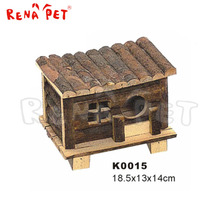 Hot sale wooden pet home bridge shape luxury hamster cage