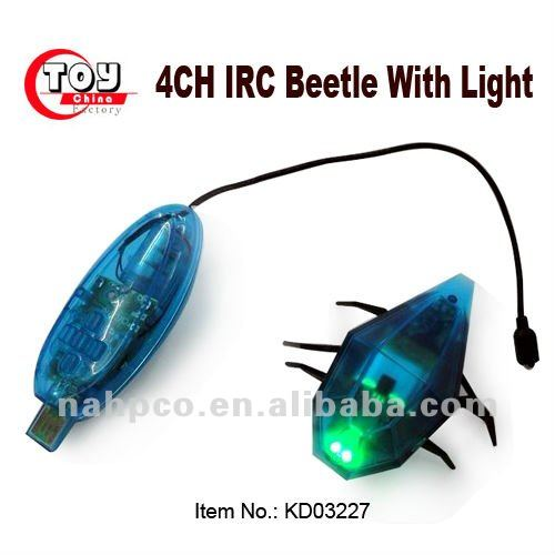 4CH IRC Beetles Robot With Light