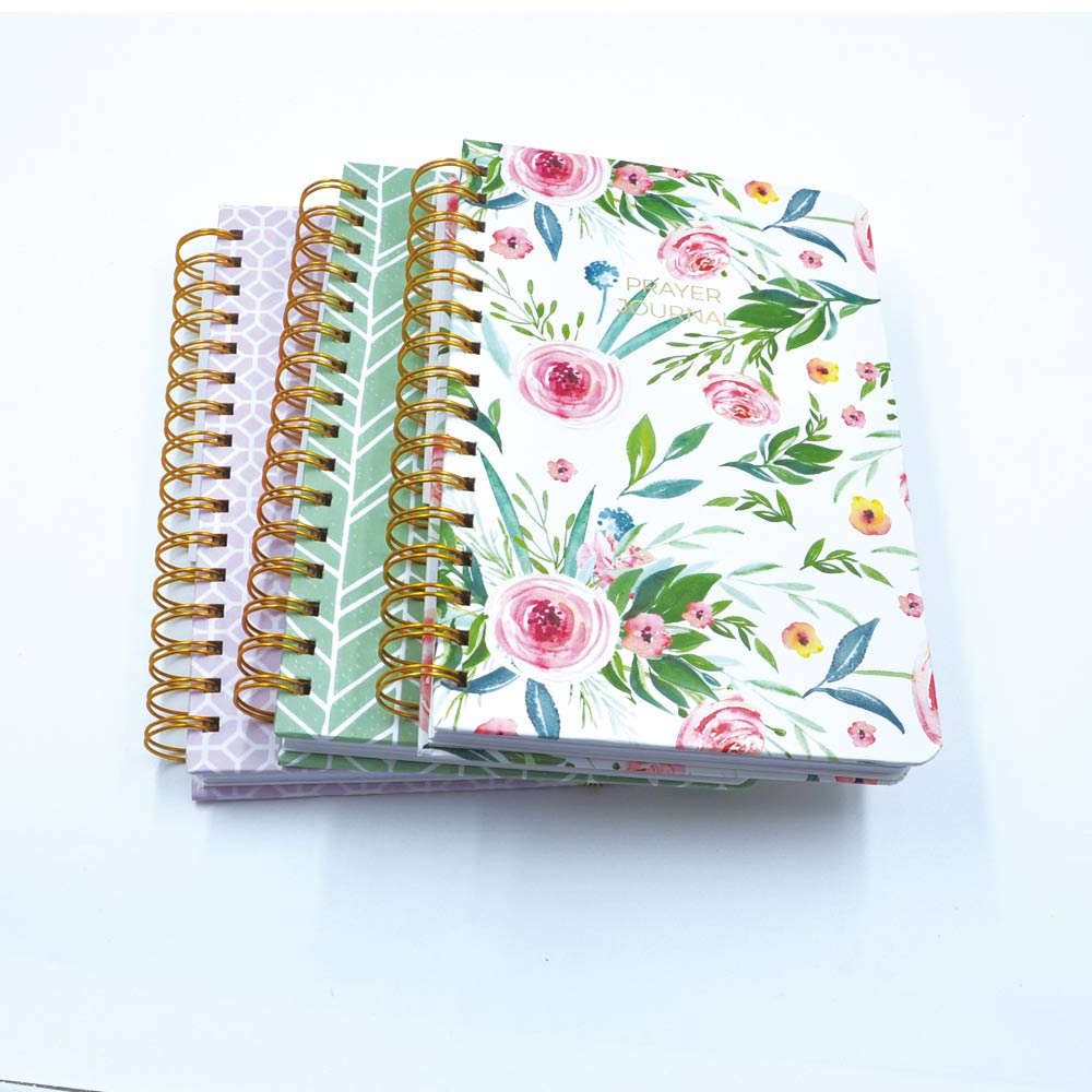 Customized notebook logo printing personalized notebook printing