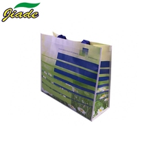 Eco-friendly Wholesale Non Woven Custom Printed Waterproof Vietnam Recycled Piping Pp Woven Shopping Bag
