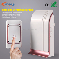wireless door bell for apartment with 36 chord songs long distance control