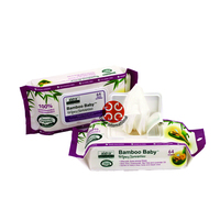 Natural Organic Bamboo Baby Wet Wipes