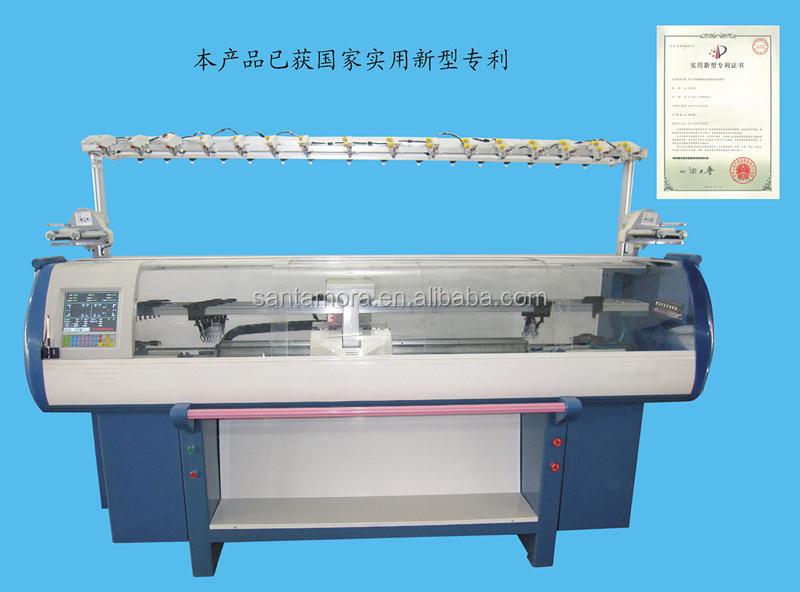 Fully Fashioned Knitting Machines : Fully fashion collar knitting machine with jacquard buy
