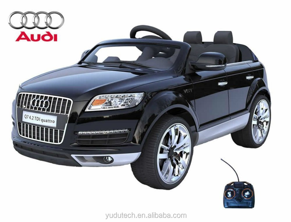 Licensed Audi Q7 12v Kids Ride On Car With Remote