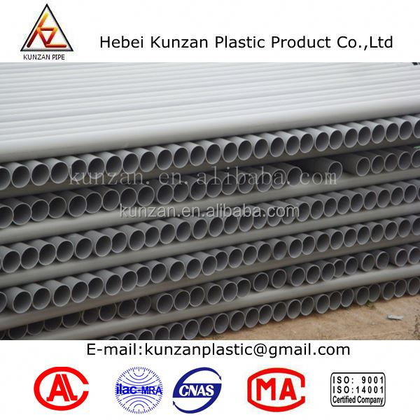 coated pipe density of pvc pipe
