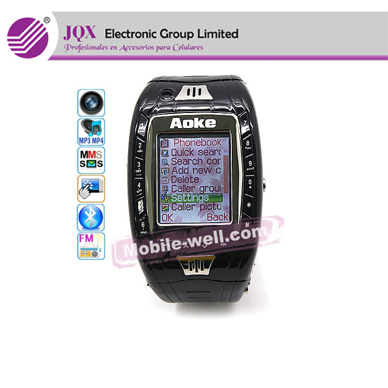 China Watch Phones GSM with bluetooth