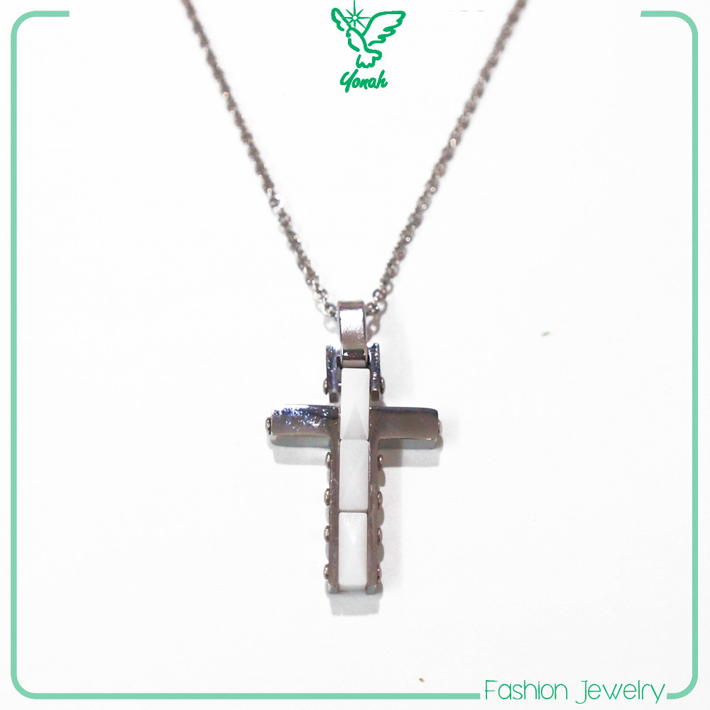 Cross pendant women silver necklaces jewelry