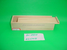 Unfinished wood box with slide lid,wooden boxes wholesale