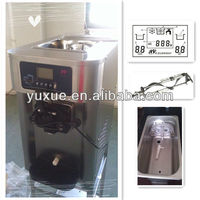 Hot! soft server ice cream maker with CE